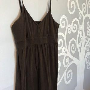 LOFT casual brown tank top dress